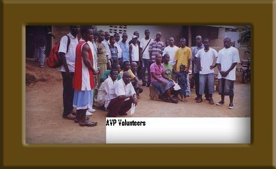 photo of AVP Volunteers Group